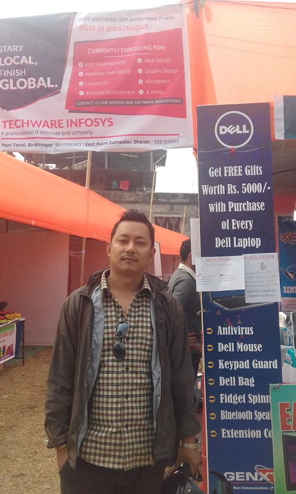 Techware Team Promoting on Dharan