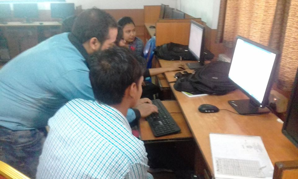 Training on eastern engineering college Biratnagar