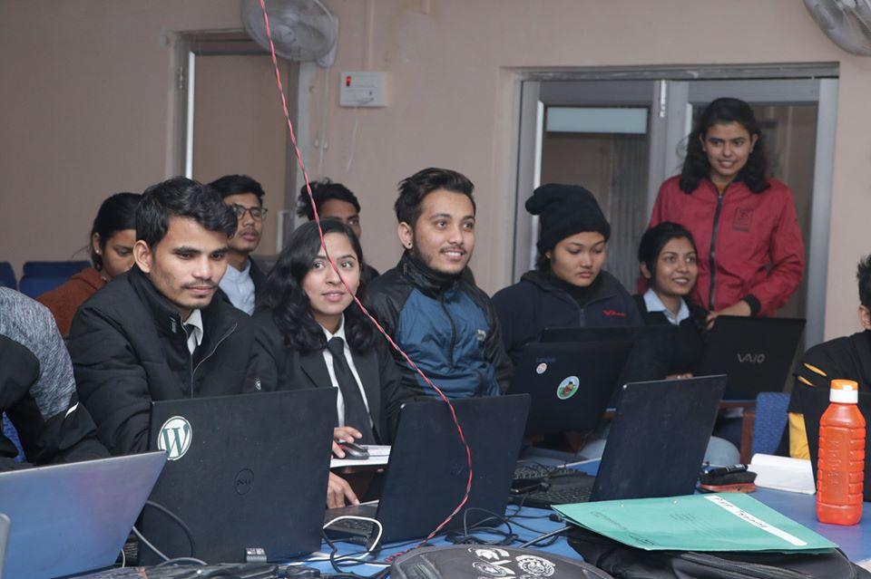 Training on Himalaya Darshan College, Biratnagar