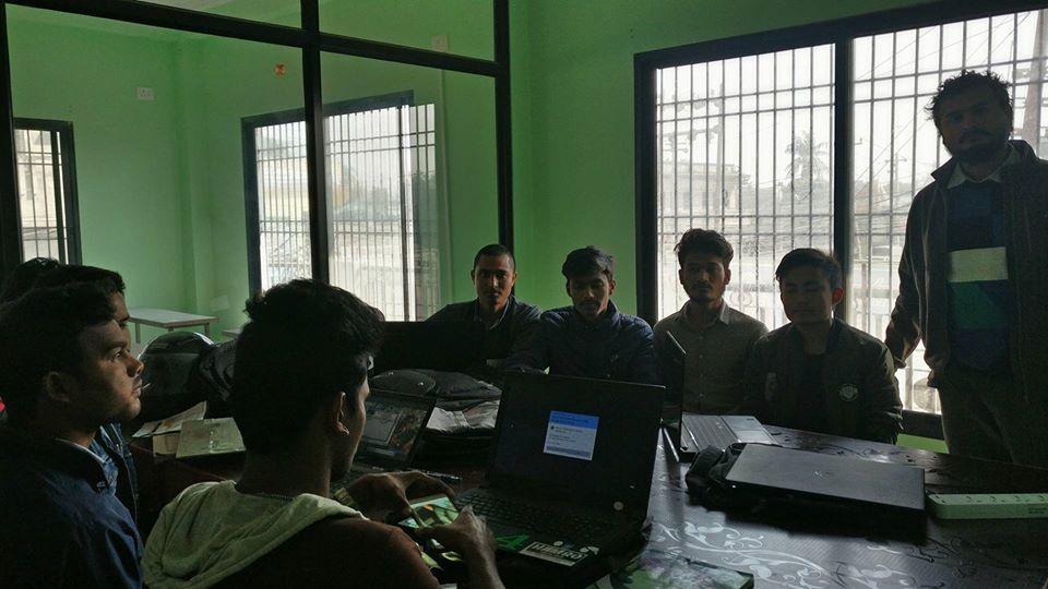 Training of Android,Techware Pvt. Ltd, Biratnagar